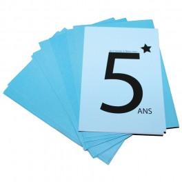 CARTES INVITATION 5 ANS